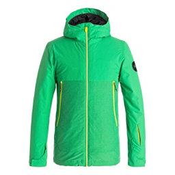 Quiksilver Sierra Boys Snowboard Jacket, Kelly Green, 256