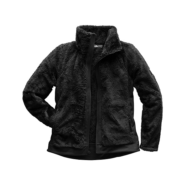 The North Face Furry Fleece Full Zip Womens Jacket, TNF Black, 600