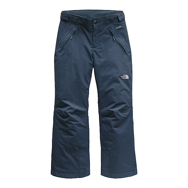 The North Face Freedom Insulated Girls Ski Pants (Previous Season), Blue Wing Teal, 600