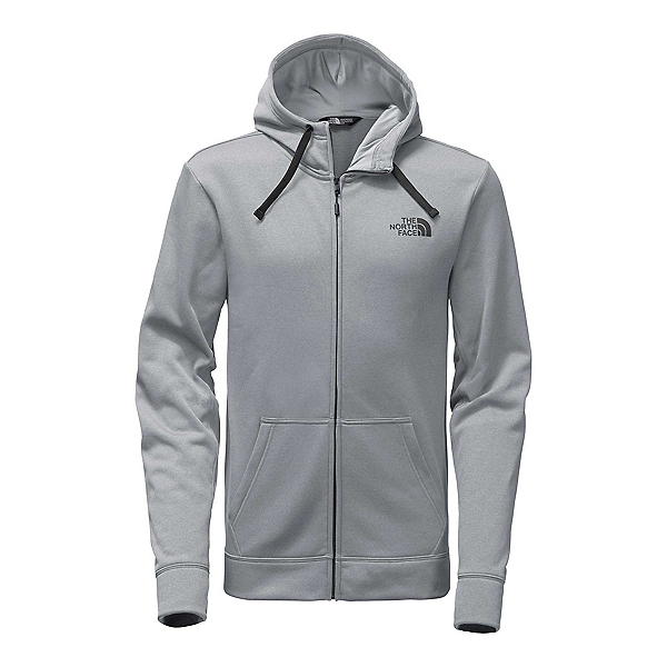 The North Face Surgent LFC Full Zip 2.0 Mens Hoodie, TNF Medium Heather Grey-Asphal, 600