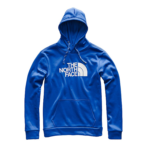 The North Face Surgent Pullover Half Dome Mens Hoodie, Turkish Sea-High Rise Grey, 600