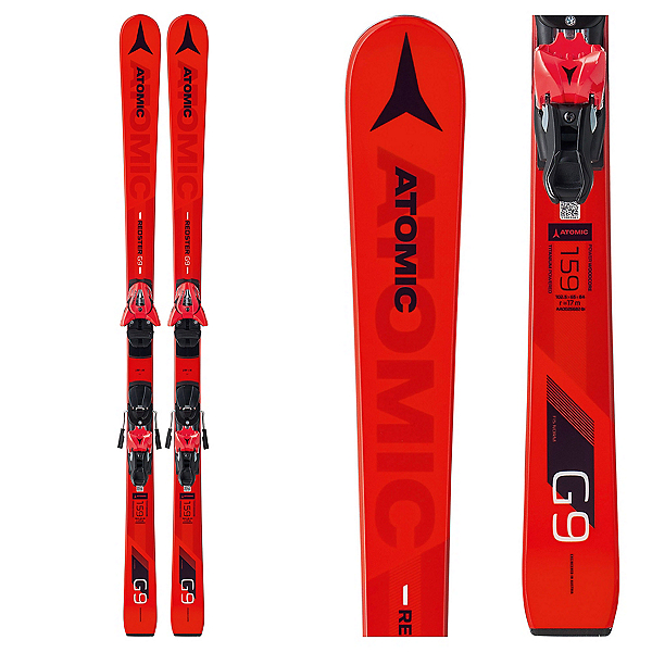Atomic Redster G9 FIS Junior Race Skis with Z 10 Bindings, , 600