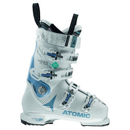 Atomic Hawx Ultra 90 W Womens Ski Boots, White-Denim Blue, 256
