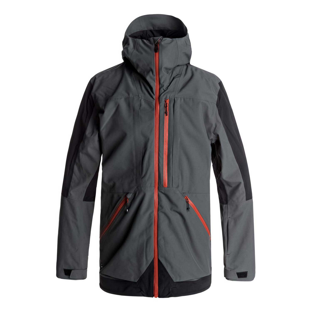 info for 8fa67 93709 Quiksilver TR Stretch Mens Shell Snowboard Jacket (526583P EQYTJ03114-KRP0  S) photo
