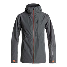 Quiksilver Forever 2L GORE-TEX Mens Shell Snowboard Jacket, Dark Shadow, 256