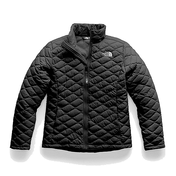 The North Face ThermoBall Full Zip Girls Jacket, TNF Black, 600