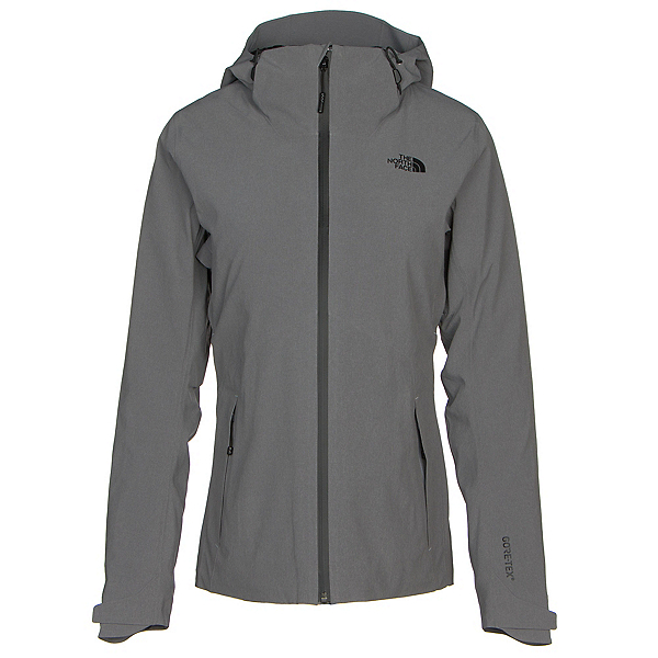 The North Face Apex Flex GTX Thermal Womens Jacket (Previous Season), TNF Medium Grey Heather-TNF Me, 600