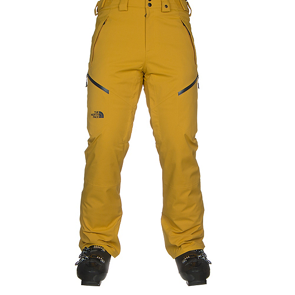 The North Face Chakal Mens Ski Pants, Leopard Yellow, 600
