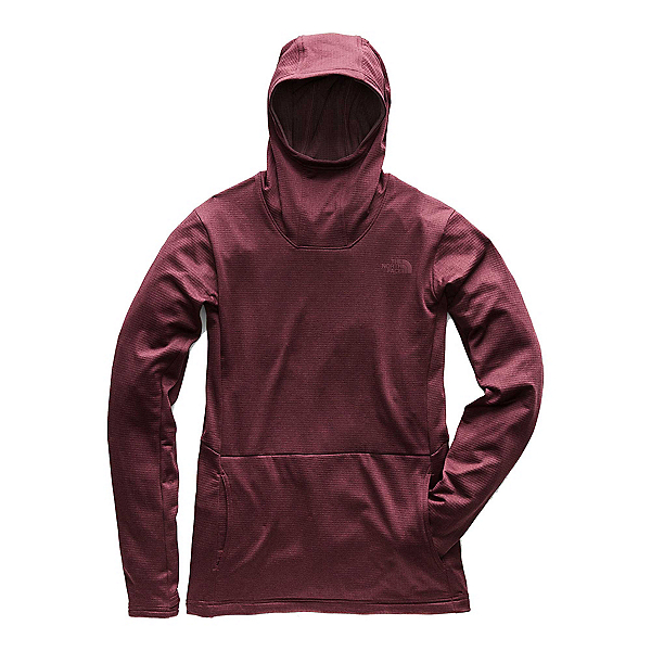 The North Face Kelkiney Pullover Womens Mid Layer (Previous Season) 2019, Fig Heather, 600