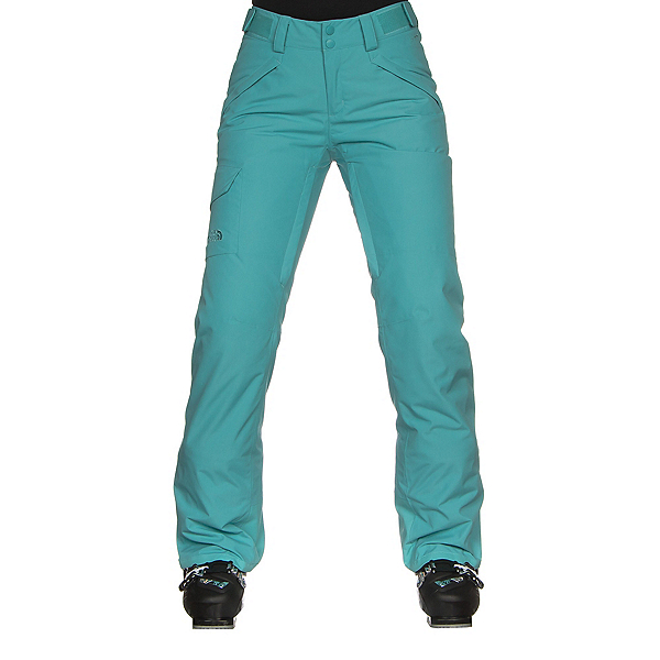 The North Face Freedom Insulated Womens Ski Pants (Previous Season) 2019, Transantarctic Blue, 600
