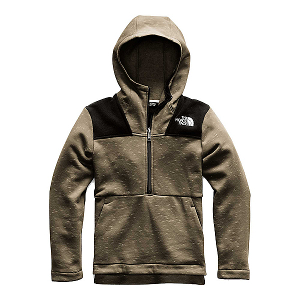 The North Face Linton Peak Anorak Kids Hoodie, New Taupe Green Heather, 600