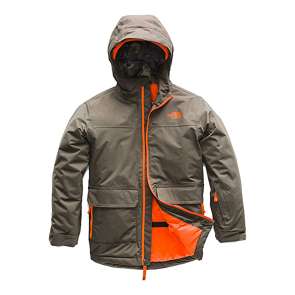 The North Face Freedom Insulated Boys Ski Jacket (Previous Season), , 600