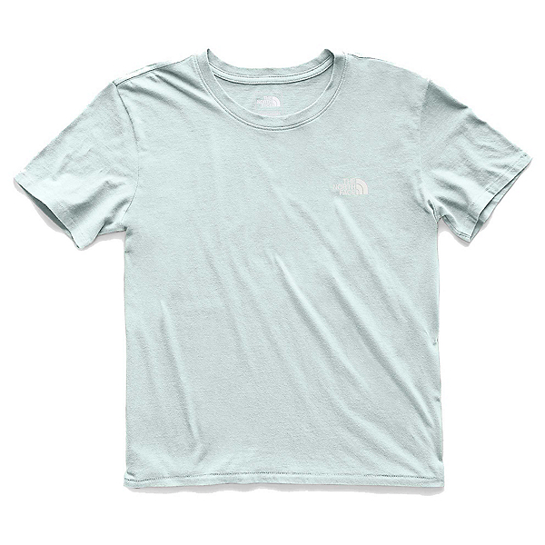 The North Face Well Loved Womens T-Shirt, Blue Haze, 600