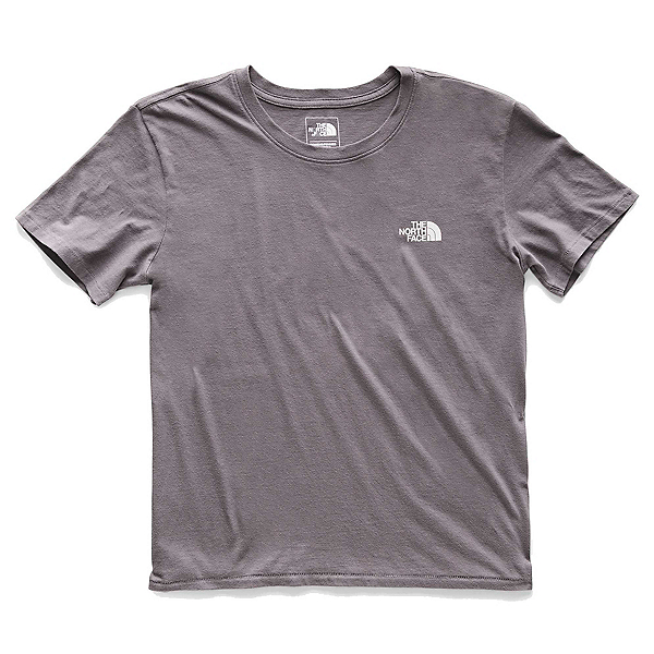 The North Face Well Loved Womens T-Shirt (Previous Season), Rabbit Grey, 600
