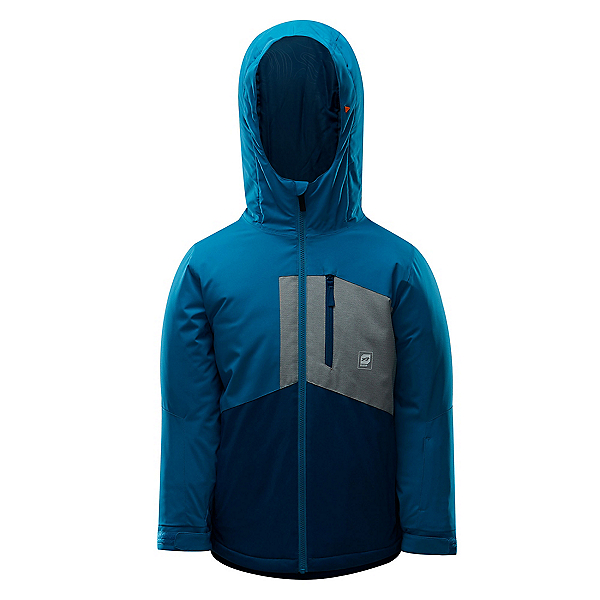 Orage Comox Boys Ski Jacket 2019, Phoenix Blue, 600