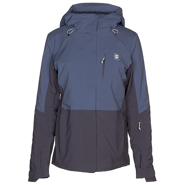 Orage Nina Womens Insulated Ski Jacket, Blue Pearl, 600