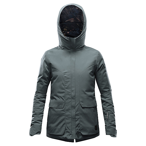 Orage Cath Womens Insulated Ski Jacket, Fjord, 600
