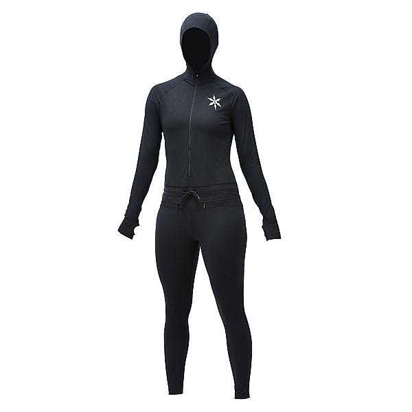 Air Blaster Classic Ninja Suit Womens Long Underwear, Black, 600