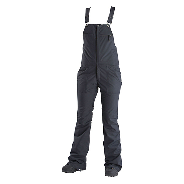 Air Blaster Hot Bib Womens Snowboard Pants 2019, Black, 600