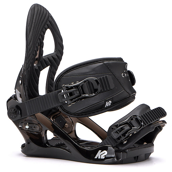 K2 Charm Womens Snowboard Bindings 2017, Black, 600