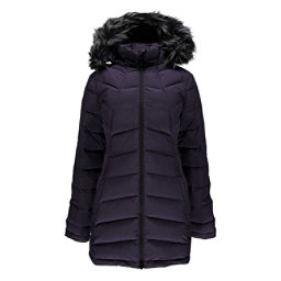 Spyder Syrround Long Faux Fur Down Womens Jacket, , 256