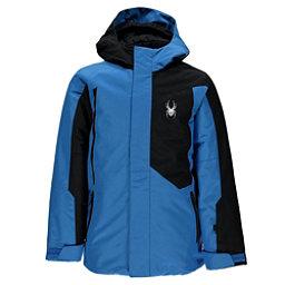 Spyder Flyte Boys Ski Jacket, French Blue-Black, 256