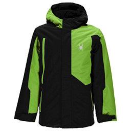 Spyder Flyte Boys Ski Jacket, Black-Fresh, 256