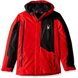 Spyder Flyte Boys Ski Jacket, Red-Black, 256
