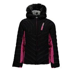 Spyder Hottie Faux Fur Girls Ski Jacket, , 256