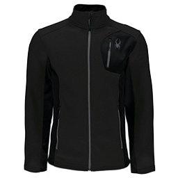 Spyder Bandit Full Zip Lightweight Stryke Mens Jacket, Black-Black, 256