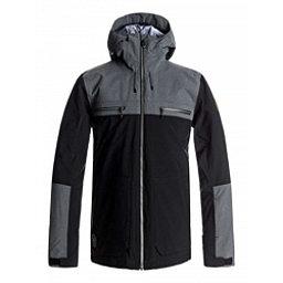 Quiksilver Arrow Wood Mens Insulated Snowboard Jacket, Black, 256
