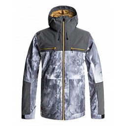 Quiksilver Arrow Wood Mens Insulated Snowboard Jacket, Electric Event, 256