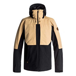 Quiksilver Travis Rice Ambition Mens Insulated Snowboard Jacket, Black, 256