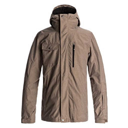 Quiksilver Mission 3 in 1 Mens Shell Snowboard Jacket, Cub, 256