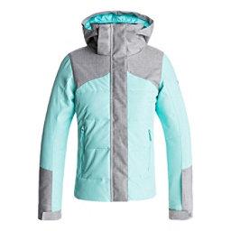 Roxy Flicker Girls Snowboard Jacket, Aruba Blue, 256