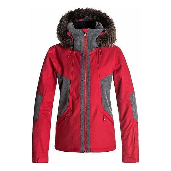 Roxy Atmosphere w/Faux Fur Womens Insulated Snowboard Jacket, , 600