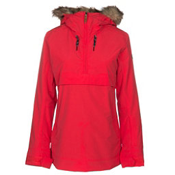 Roxy Shelter Womens Insulated Snowboard Jacket, Lollipop, 256