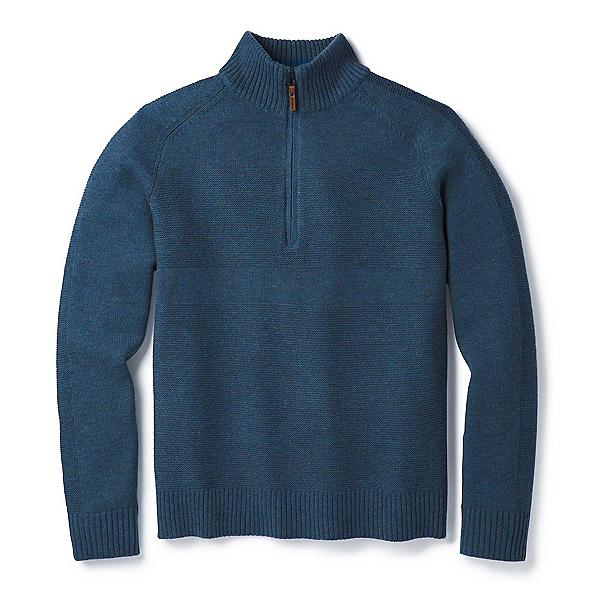 SmartWool Ripple Ridge Half Zip Mens Sweater 2019, , 600