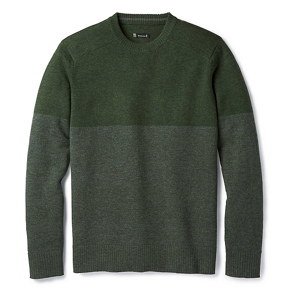 SmartWool Sparwood Colorblock Crew Mens Sweater, , 600