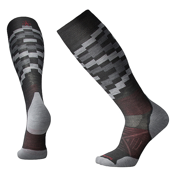 SmartWool PHD Ski Light Elite Pattern Ski Socks, , 600