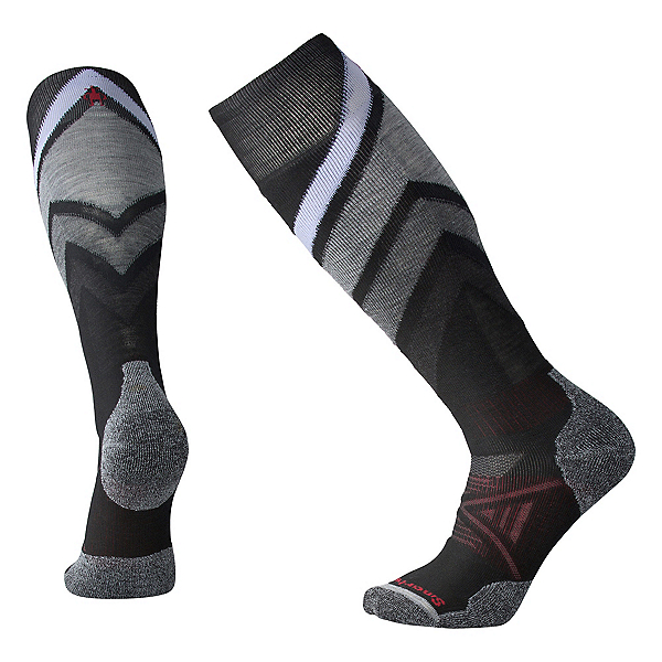 SmartWool PhD Medium Pattern Ski Socks, , 600