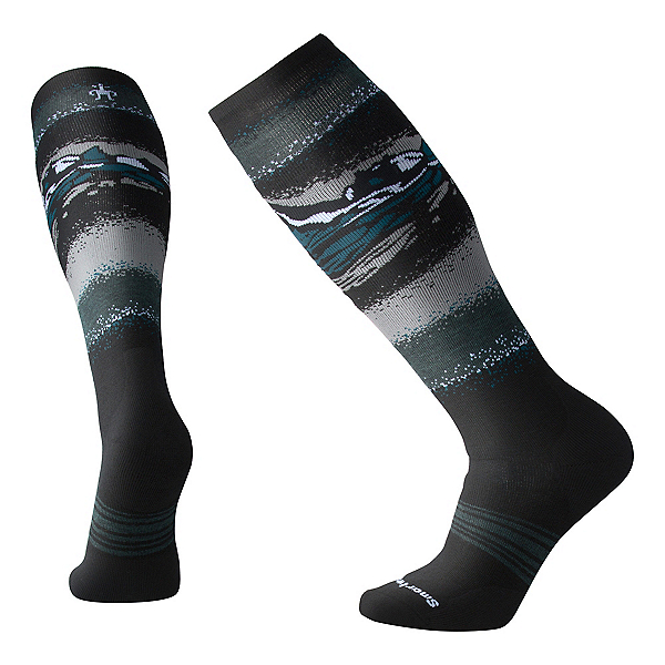 SmartWool PhD Slopestyle Medium Snowboard Socks, Black, 600