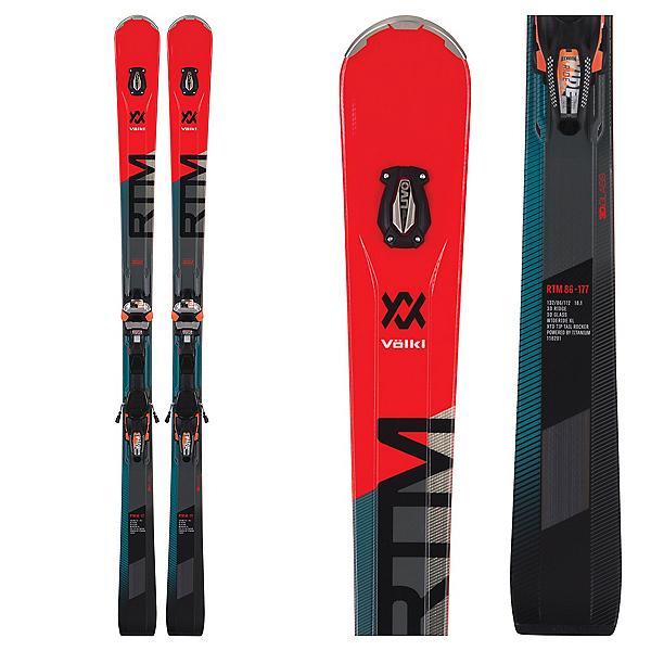 Volkl RTM 86 Skis With IPT WiderideXL Bindings 2019