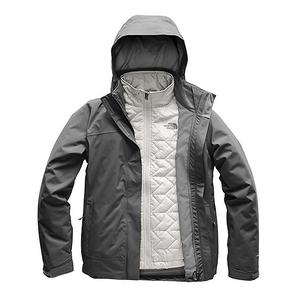 The North Face Carto Triclimate Womens Insulated Ski Jacket (Previous Season), Vanadis Grey-Vanadis Grey, 600
