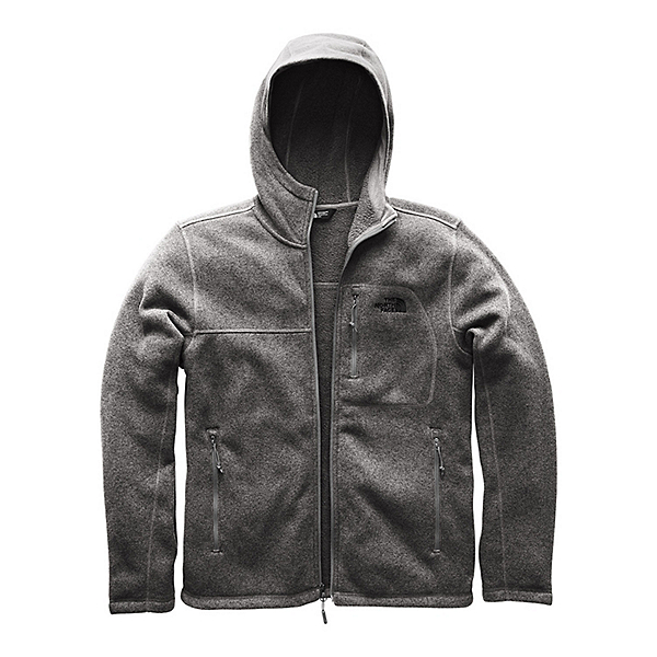 The North Face Gordon Lyons Hoodie Mens Jacket, TNF Medium Grey Heather, 600