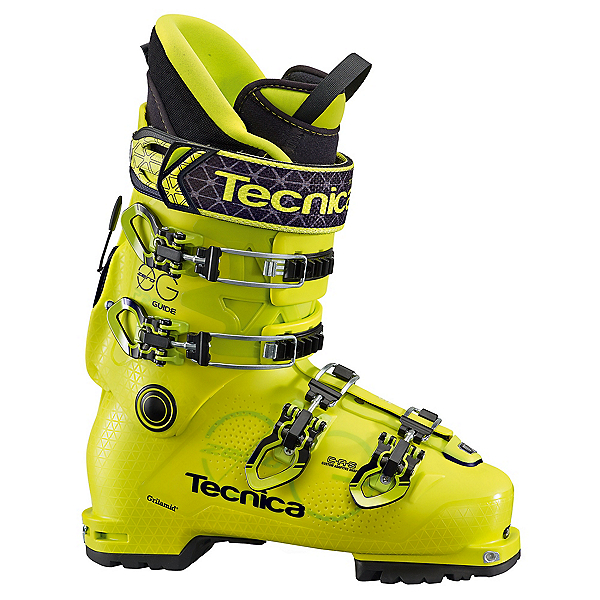 Tecnica Zero G Guide Pro Alpine Touring Boots, Bright Yellow, 600