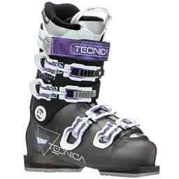 Tecnica Mach 1 R W MV Womens Ski Boots, Black-Purple, 256