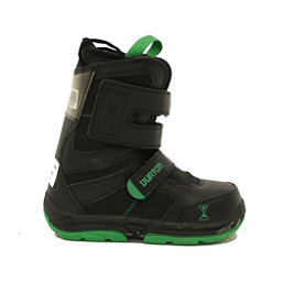 Used 2014 Burton Progression Jr Kids Youth Snowboard Boots Easy Lock Straps, , 256
