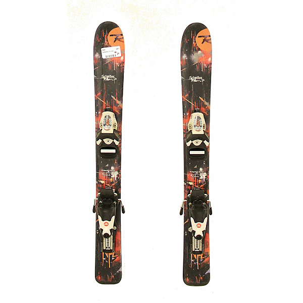 Used 2012 Rossignol Scimitar Kids Toddler Skis Rosi Kids Bindings A Condition, , 600