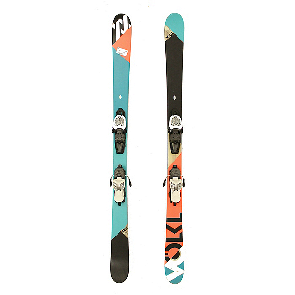 Used 2012 Volkl Kink Jr Kids Skis Marker 7.0 Bindings A Condition, , 600